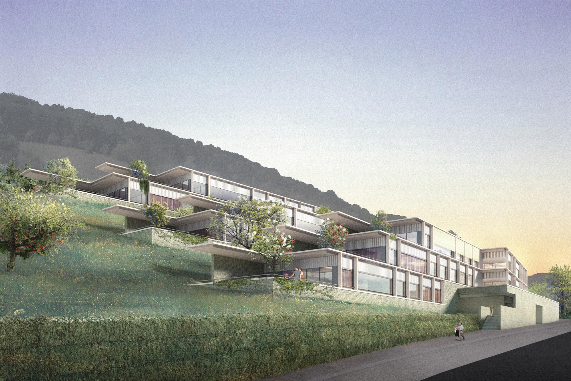 VINEA Ennetbaden - Burkard Meyer Architekten Baden
